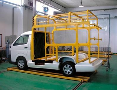 車両フレーム構造