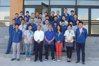 中国大連工場スタッフ